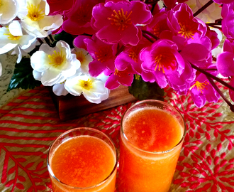 Papaya Orange Juice Recipe