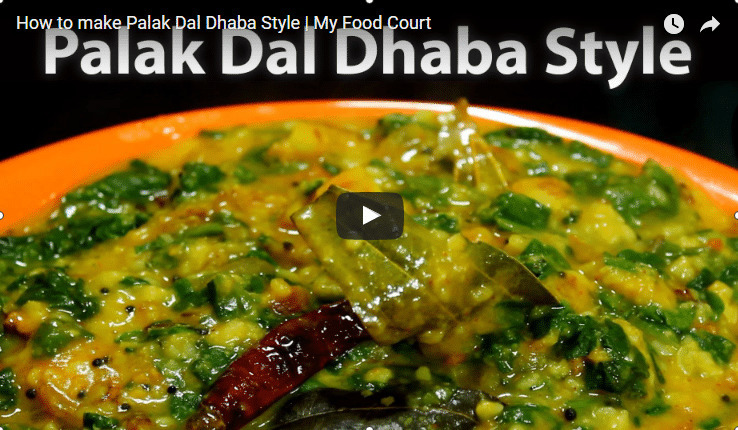 Palak Dal Recipe Video