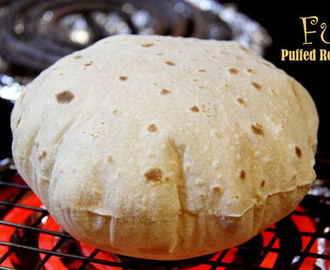 How to Make Soft and Puffed Roti, Phulka or Chapati