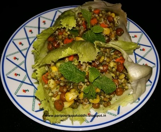 MINTY SPROUTS IN LETTUCE WRAPS