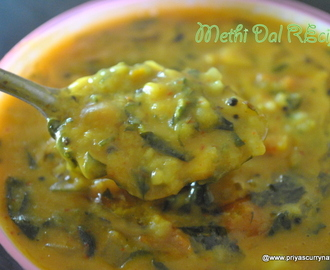 Methi dal fry Recipe,how to make methi dal
