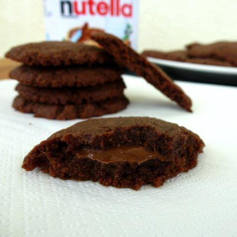 Nutella keksi sa samo 3 sastojka / Nutella cookies with only 3 ingredients