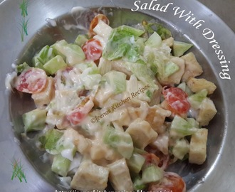 Salad With Mayo Dressing