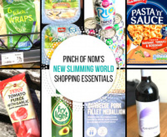 New Slimming World Shopping Essentials – 18/8/17