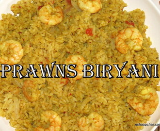 South Indian Prawns biryani recipe
