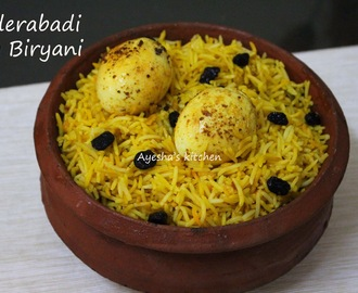 HYDERABADI  EGG BIRYANI RECIPE - YUMMY EGG RECIPES