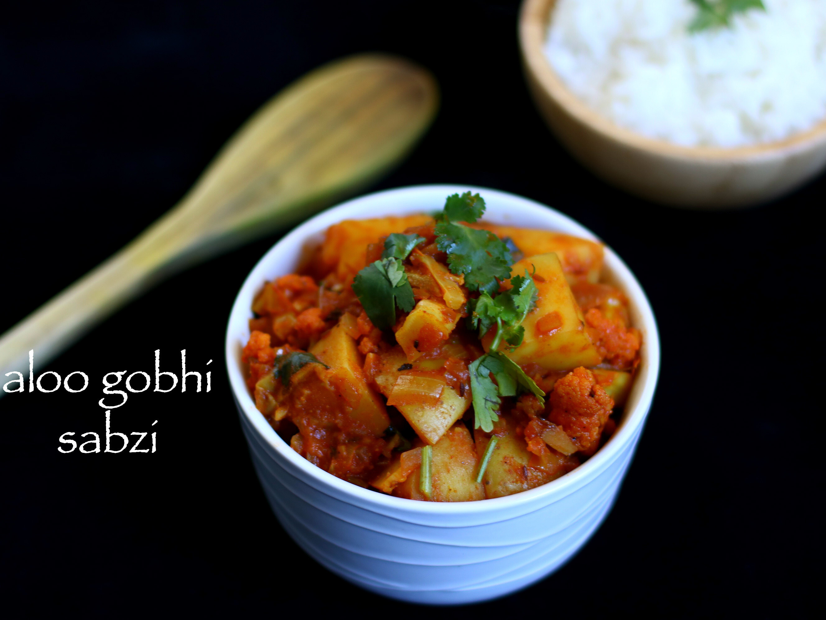 easy aloo gobi recipe | quick aloo gobi curry recipe