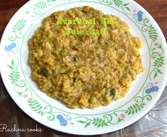 Avarekai Bisi Bele Bath recipe