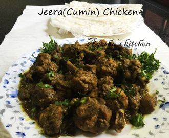 JEERA CHICKEN - CUMIN CHICKEN / ROASTED CHICKEN