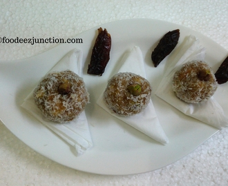 Khajur Laddu Recipe
