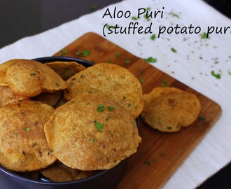 PURI RECIPES -  ALOO PURI RECIPE / INDIAN BREAKFAST IDEAS