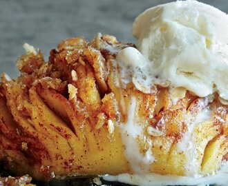 Fall In Love With Hasselback Baked Apples