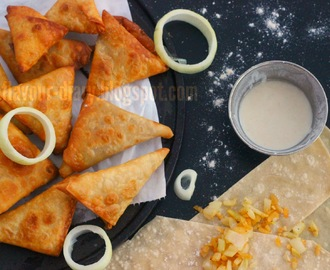 Irani Samosa | Hyderabadi Cuisine | Vegetarian Snack | Samosa with homemade samosa sheets