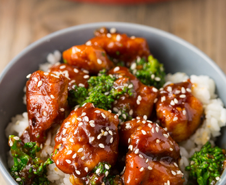 General Tso's Chicken Stir Fry