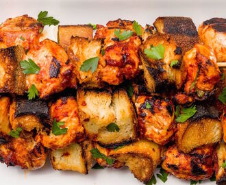 Italian Chicken Skewers