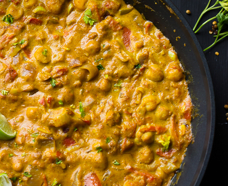 Coconut Chickpea Curry (Vegan & Gluten Free) (VIDEO)