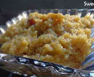 Sweet Dalia – Broken wheat made with jaggery