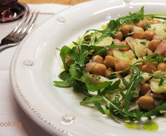 Bacalhau com Grão | Salt Cod and Chickpea Salad