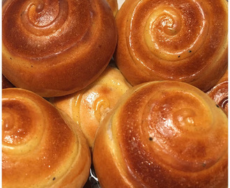 Milk Pudding Buns