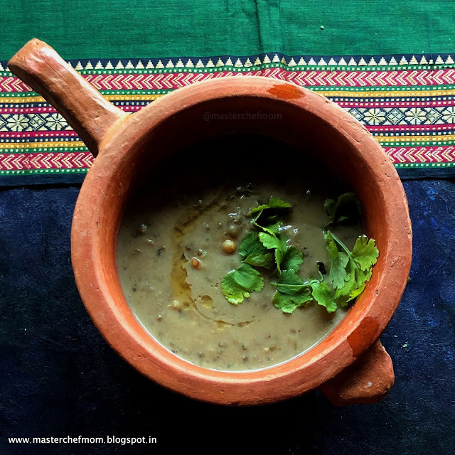 North Arcot Style Payaru Puli Kurma | Pachai Payaru Puli Kurma |Green Gram in Tamarind Coconut Gravy | North Arcot Style Legume Stew |  Gluten Free and Vegan Recipe