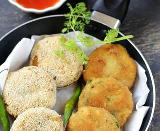 Poha Cutlet | Rice Flakes Cutlet Recipe