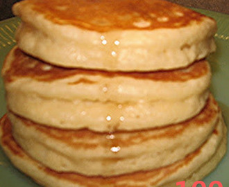 These are absolutely the best homemade pancakes we have ever eaten