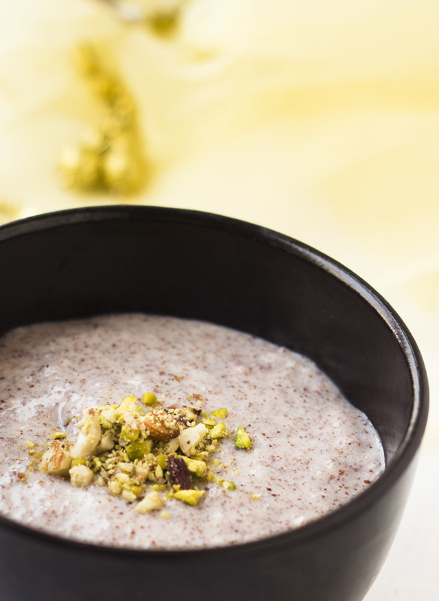 Ragi Malt recipe, Ragi Java, Finger Millet Porridge