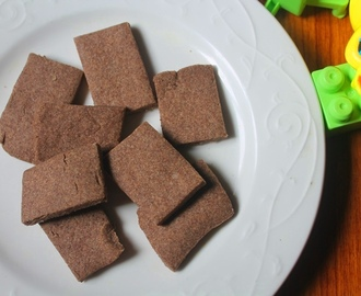 Toddler Ragi Biscuits Recipe - Finger Food Recipes for Babies & Toddlers
