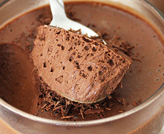 Mousse de Chocolate com Café