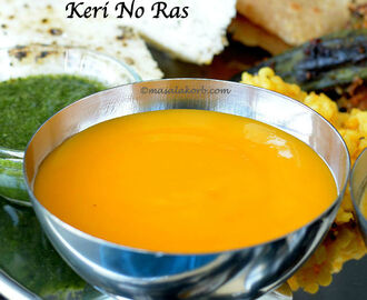 Easy Aamras Recipe | Keri No Ras | Homemade Mango Puree (Dip) | Gujarati Aamras Recipe