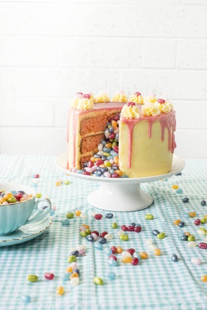 Jelly Belly Bean Surprise Cake