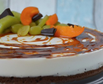 Cheesecake se slaným karamelem | Cheesecake with a salty caramel