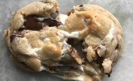 Peanut Butter Chocolate Chunk Marshmallow Cookie