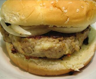 Swiss Turkey Burger