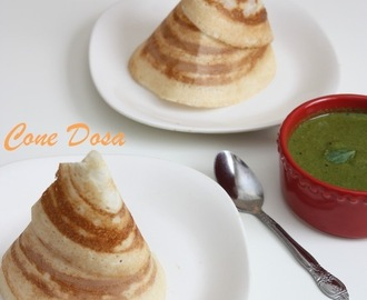 Cone Dosa | How to make Cone Dosa