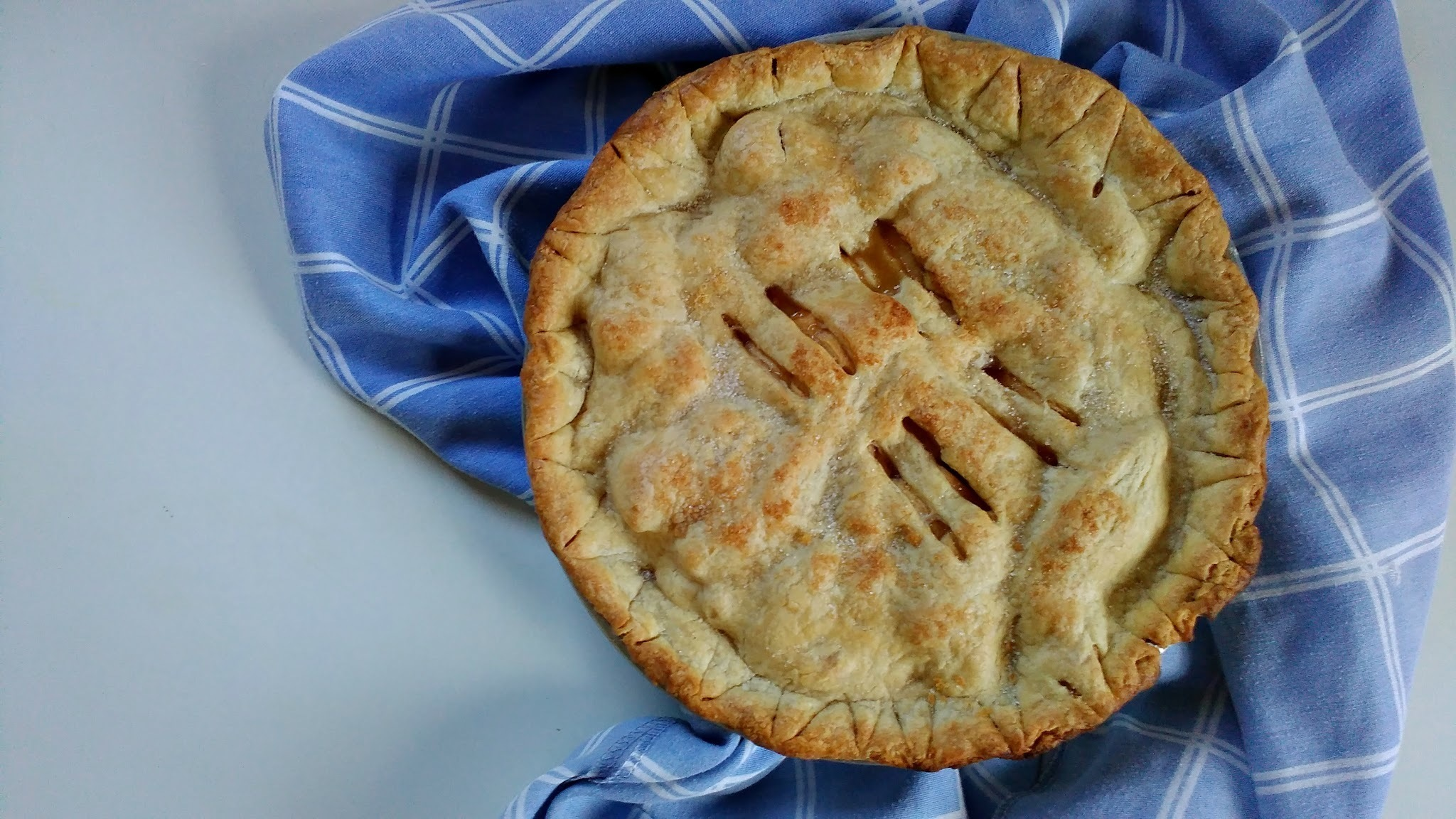 Tarte de maçã americana [apple pie]