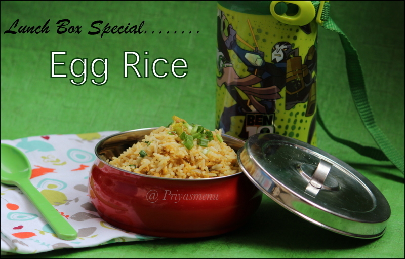 Egg Rice / Lunch box Special