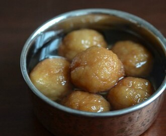 Bread Gulab Jamun, How to make Gulab Jamuns with Bread