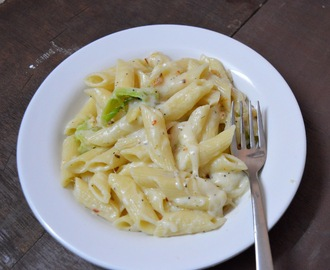 Penne Pasta in White Sauce | Easy Dinner Recipe