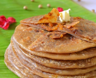 PURAN POLI  /   Sweet Indian Flat Bread