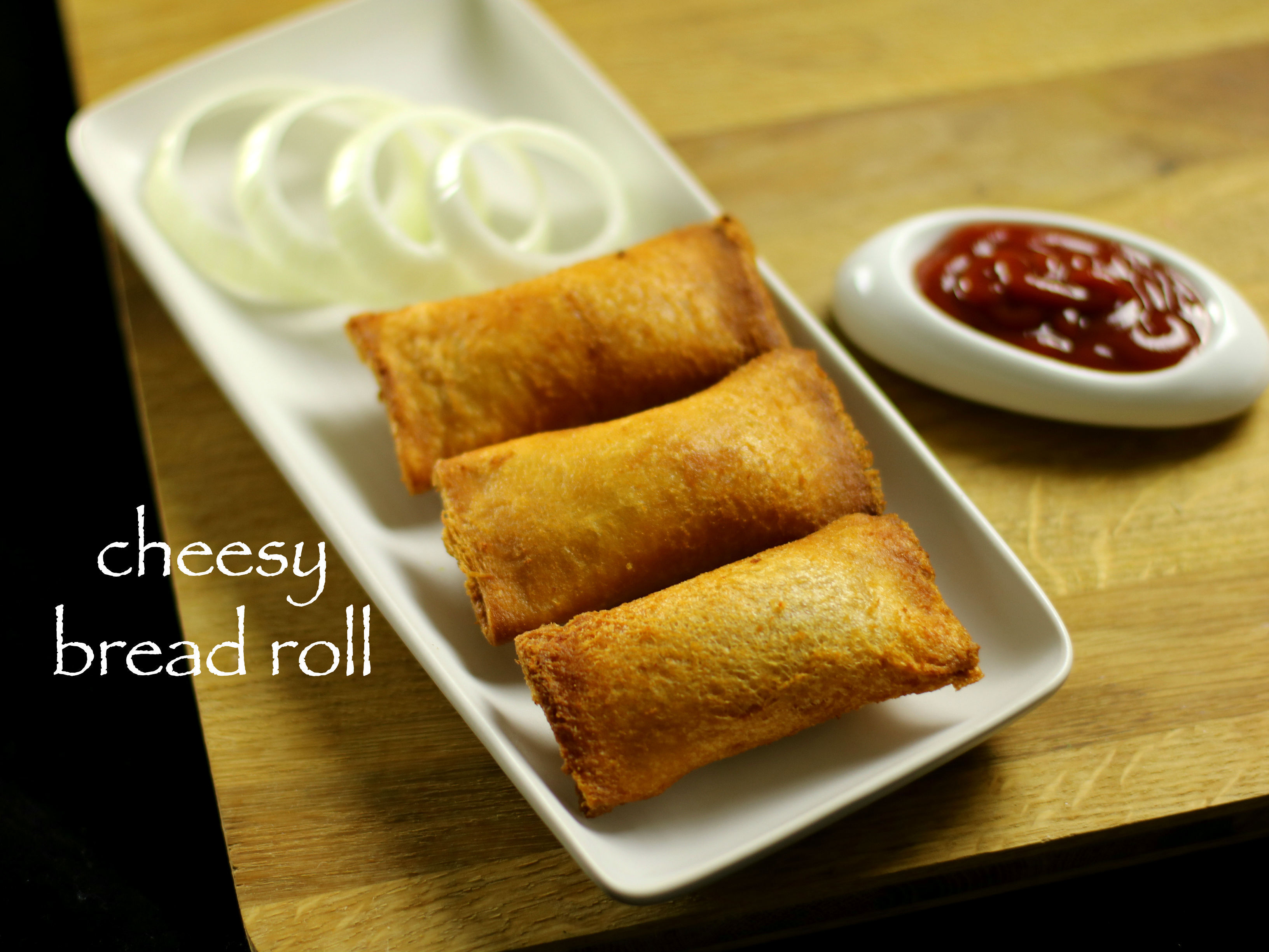cheesy bread roll recipe | veg stuffed bread roll recipe
