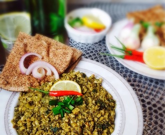 Hariyali Keema Recipe / Green Chicken Mince Curry Recipe / Keema Hara Masala Recipe ~ Just Recipes