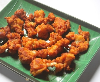Cauliflower Pakoda Recipe - Gobi Pakora Recipe