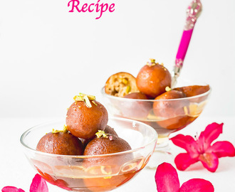 Khoya Paneer Gulab Jamun Recipe | Stuffed Gulab Jamun | Gulab Jamun Indian Sweet | How to make Gulab Jamun from Scratch  | Gulab Jamun With Khoya and Paneer