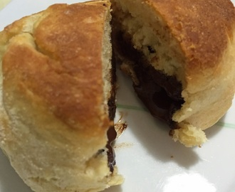 English Muffins com Chocolate