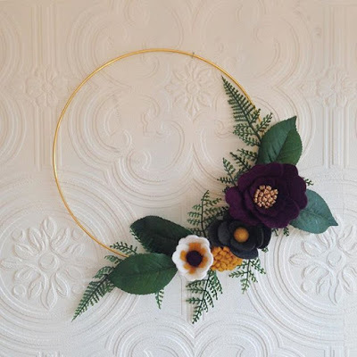 Pop up shop and floral wreath making...