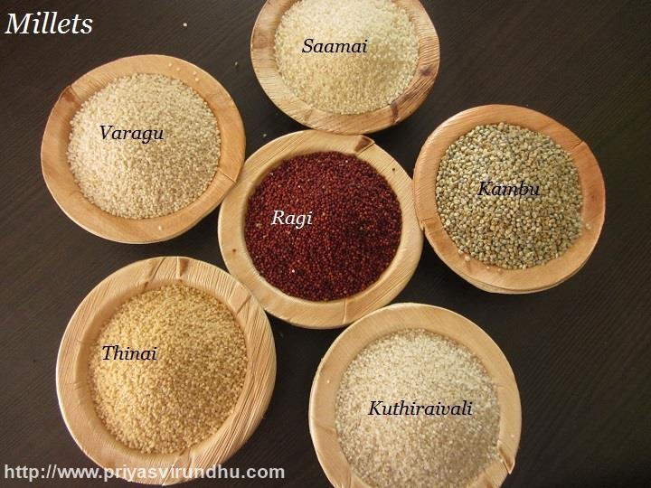 Millets/SirudhaniyaVagaigal –  All About Millets/Millets Nutritional Values/ Millet Recipes/ Millets Glossary