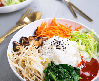 Vegan Korean Bibimbap