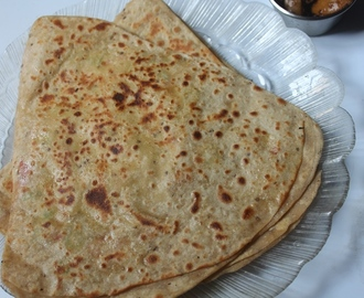 Egg Paratha Recipe - Stuffed Egg Paratha Recipe