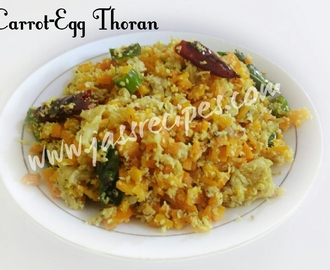 Carrot Egg Thoran